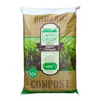 40L Living Green Organic Compost