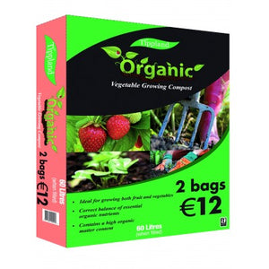 60L Organic Vegetable Growing Compost