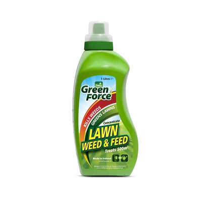 Green Force Lawn Feed and Weed 1L