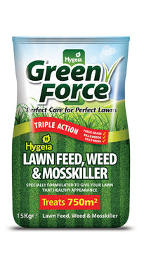 Greenforce Lawn Feed Weed & Mosskiller 15kg