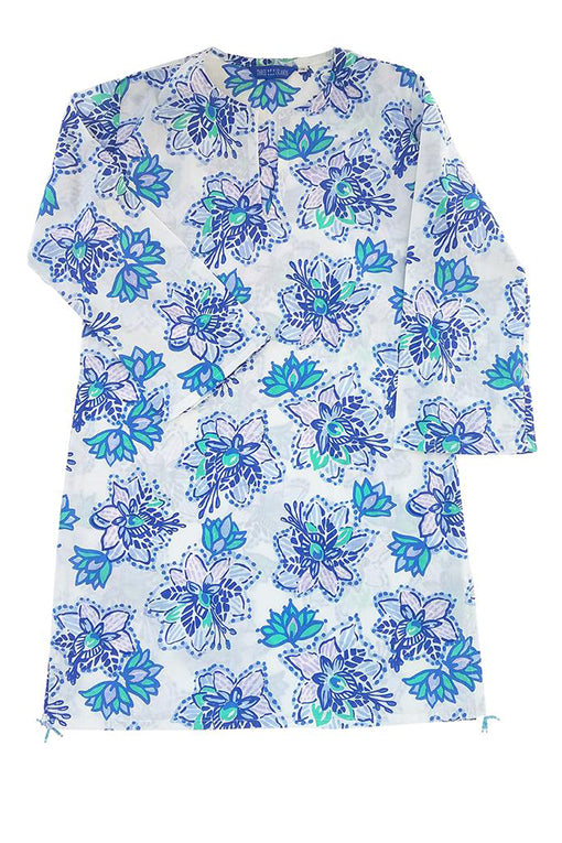 Nevis Beach Tunic in Floral Paradise