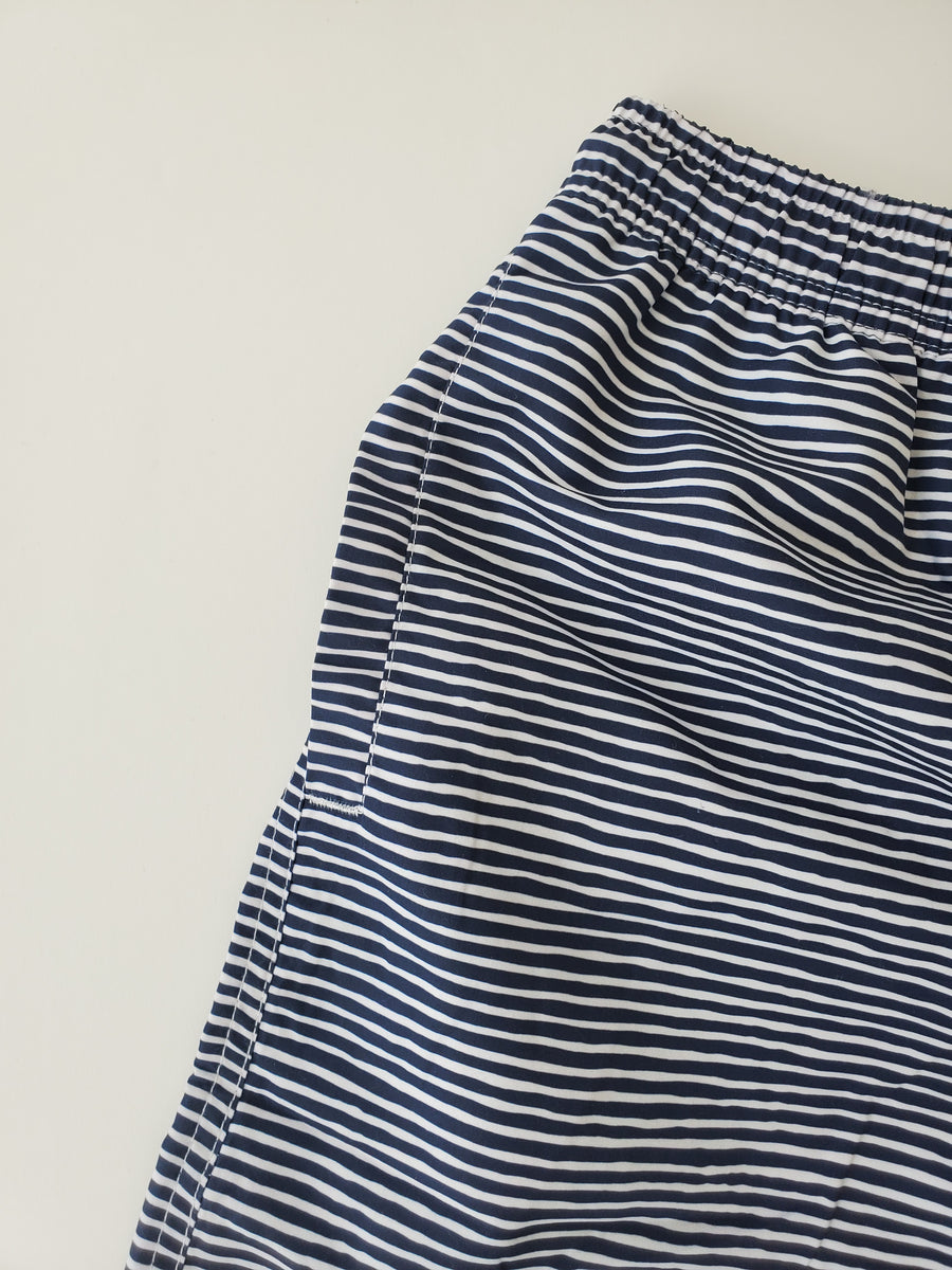 Padang Padang Swim Short in Midnight Stripes