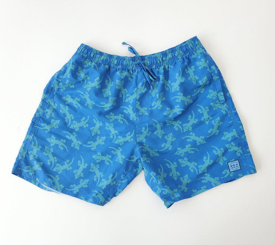 Padang Padang Swim Short in Green Gecko