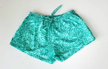 Sophie Sleep Shorts in Tiger Bay