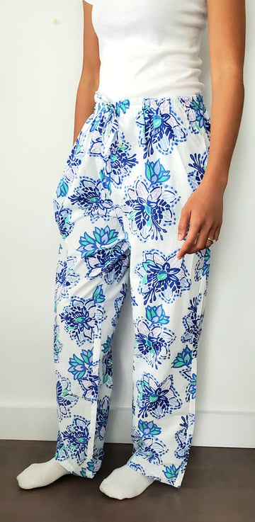 Ladies House Pants in Floral Paradise