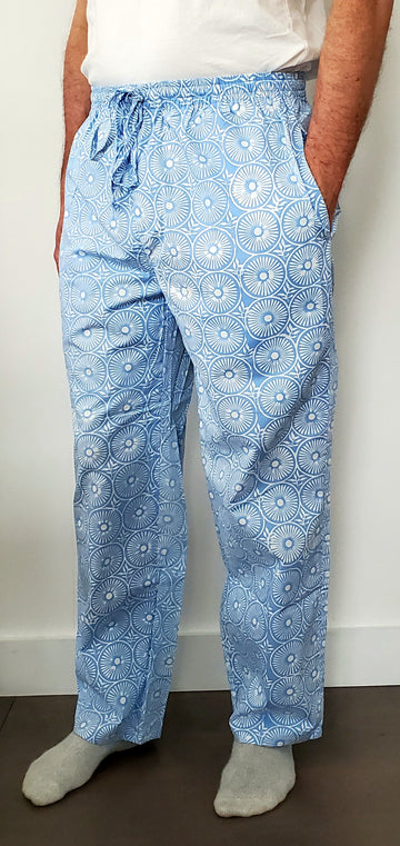 Mens House Pants in Persian Sun Dial
