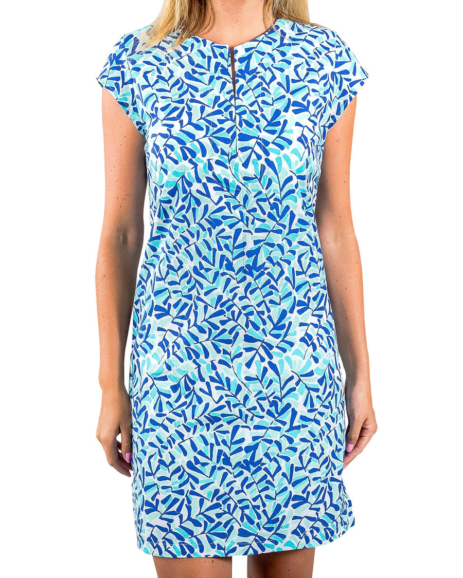 Julie Dress in Summer Shade Dazzling Blue