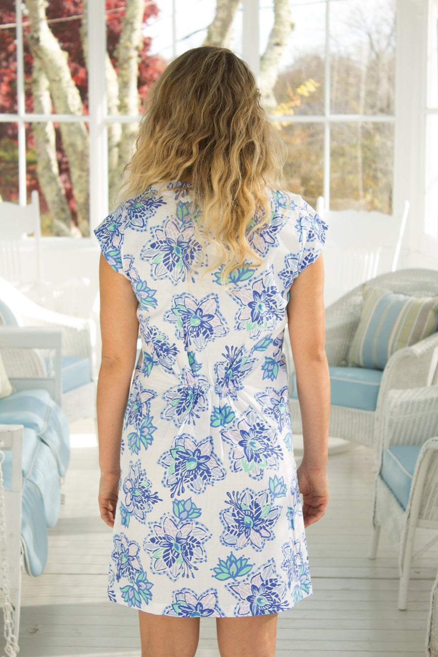 Julie Dress in Floral Paradise