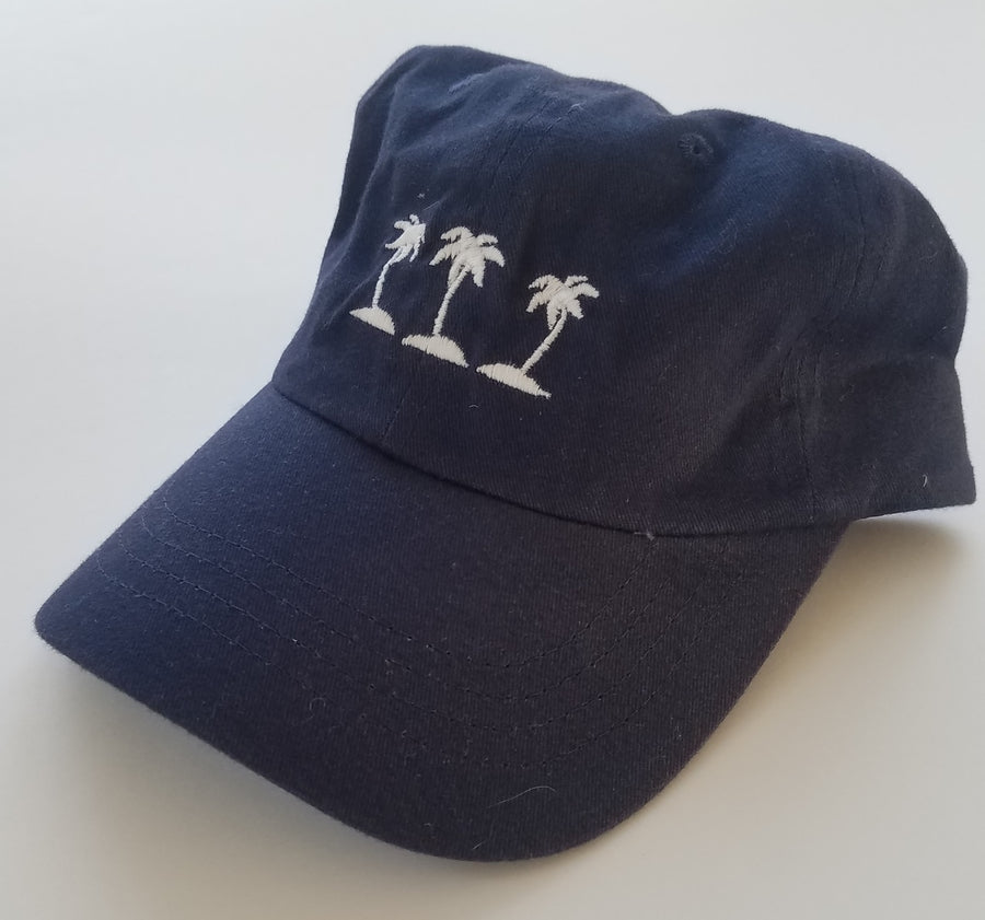 Three Islands Navy Hat