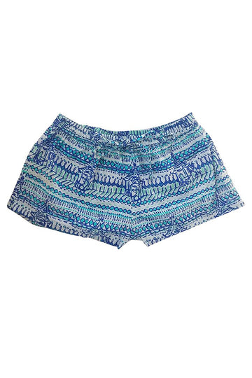 Sophie Sleep Shorts in Bali Business Blue