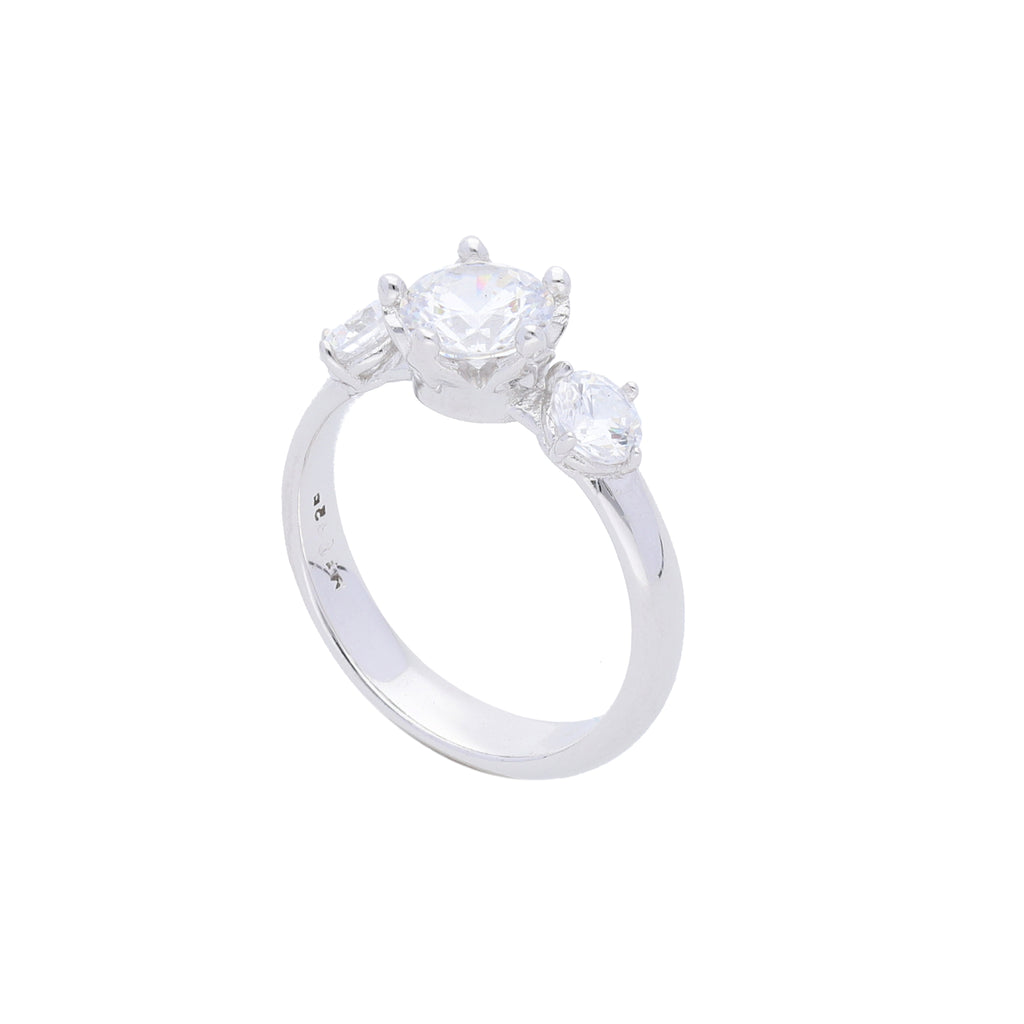 Queens Crown Ring with Clear CZ - Elias Serhan