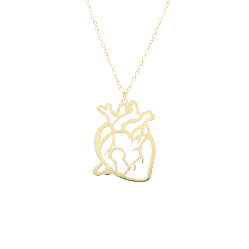 Locked Heart Large Pendant - Elias Serhan