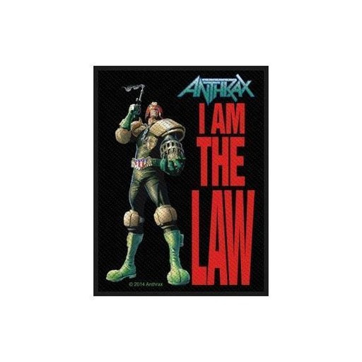 Anthrax - I Am The Law (Patches)-Metalomania