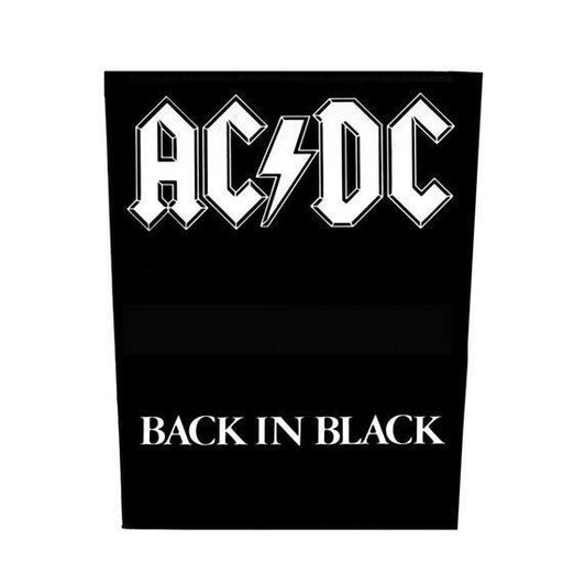 Back Patch - ACDC - Back in Black-Metalomania