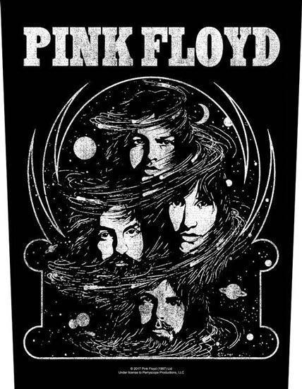 Back Patch - Pink Floyd - Cosmic Faces-Metalomania