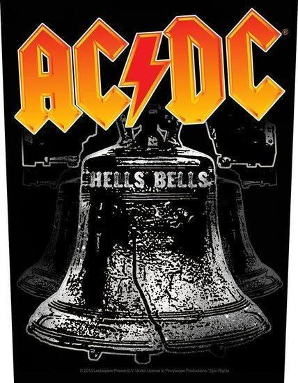 Back Patch - ACDC - Hells Bells-Metalomania