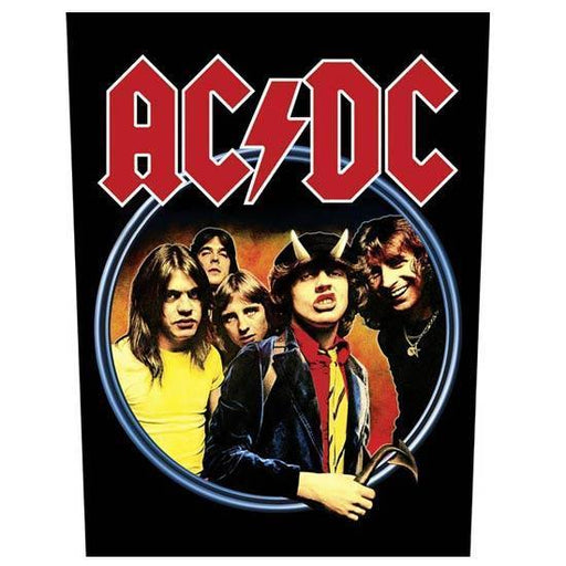 Back Patch - ACDC - Highway to Hell-Metalomania