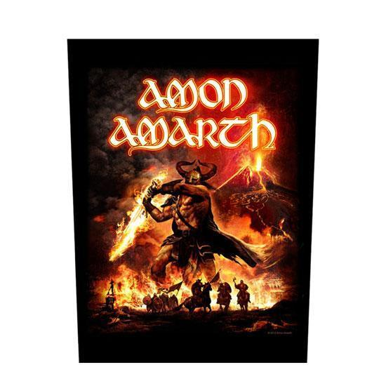 Back Patch - Amon Amarth - Surtur Rising-Metalomania