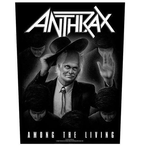 Back Patch - Anthrax - Among The Living-Metalomania