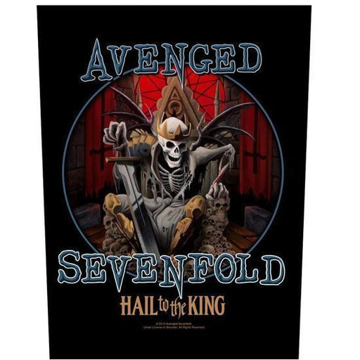 Back Patch - Avenged Sevenfold (A7X) - Hail to the King