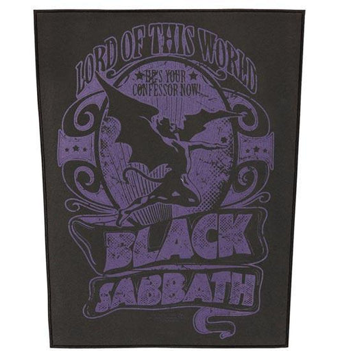 Back Patch - Black Sabbath - Lord of this World