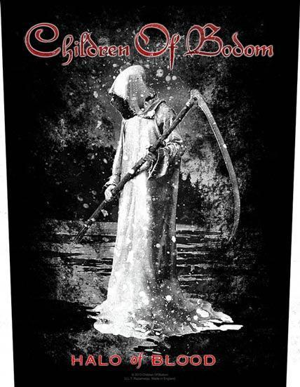 Back Patch - Children of Bodom - Halo of Blood