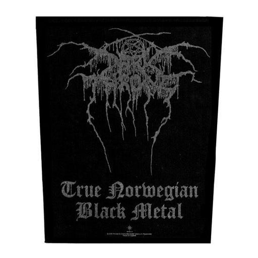 Back Patch - Darkthrone - True Norwegian Black Metal-Metalomania