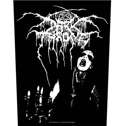 Back Patch - Darkthrone - Transylvanian Hunger-Metalomania