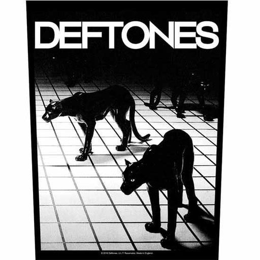 Back Patch - Deftones - Panther-Metalomania