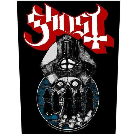 Back Patch - Ghost - Papa Warriors-Metalomania