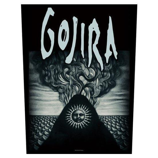 Back Patch - Gojira - Magma Album Cover-Metalomania
