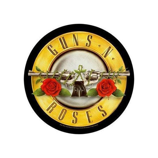 Back Patch - Guns N Roses - Bullet Logo (ROUND)-Metalomania
