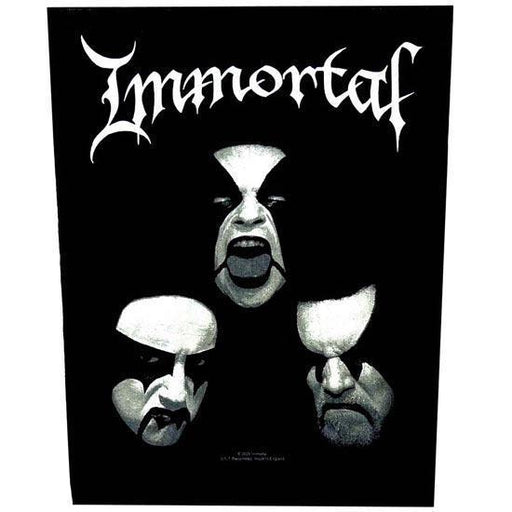 Back Patch - Immortal - Faces-Metalomania
