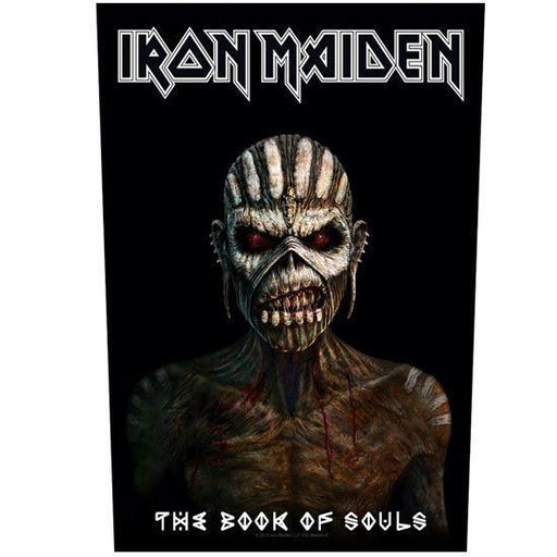 Back Patch - Iron Maiden - Book Of Souls-Metalomania