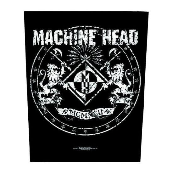Back Patch - Machine Head - Crest-Metalomania