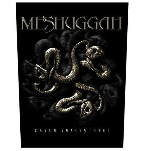 Back Patch - Meshuggah - Catch 33-Metalomania