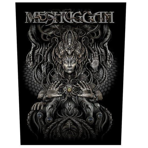 Back Patch - Meshuggah - Musical Deviance-Metalomania