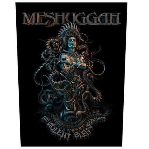Back Patch - Meshuggah - Violent Sleep of Reason-Metalomania