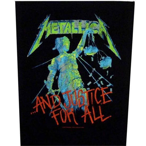 Back Patch - Metallica - And Justice for All-Metalomania