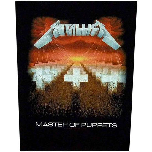 Back Patch - Metallica - Master of Puppets-Metalomania