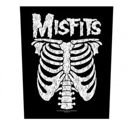Back Patch - Misfits - Rib Cage