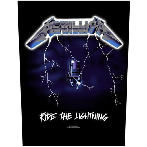 Back Patch - Metallica - Ride the Lightning