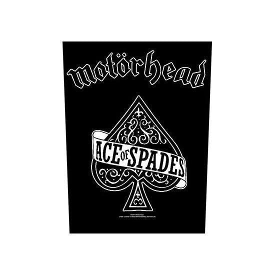 Back Patch - Motorhead - Ace of Spades-Metalomania