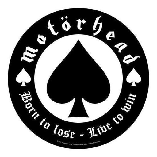Back Patch - Motorhead - Born to Lose-Metalomania