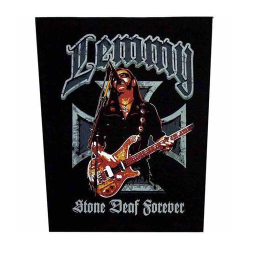 Back Patch - Motorhead - Lemmy - Stone Deaf