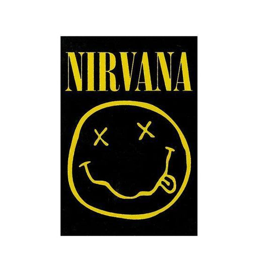 Back Patch - Nirvana - Smiley