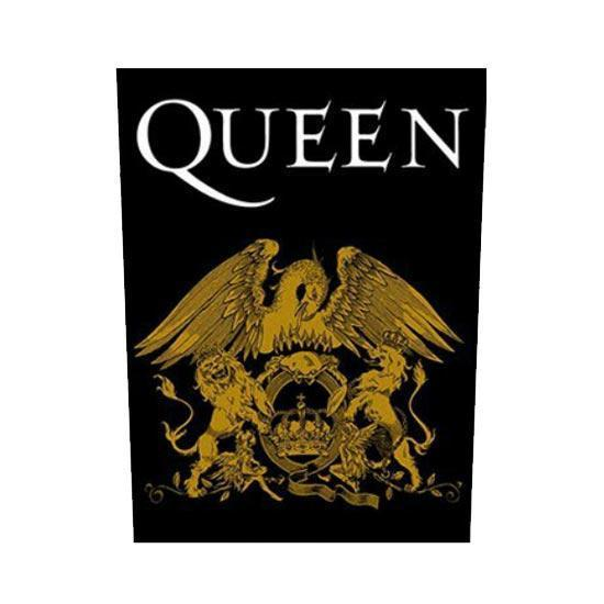 Back Patch - Queen - Coat of Arms-Metalomania