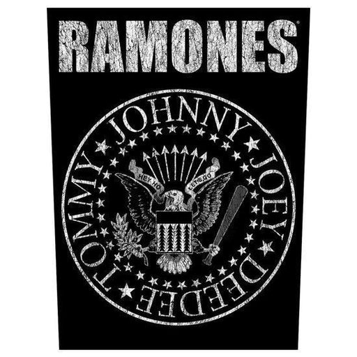 Back Patch - Ramones - Presidential Seal-Metalomania