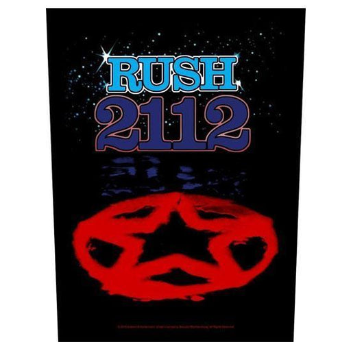 Back Patch - Rush - 2112