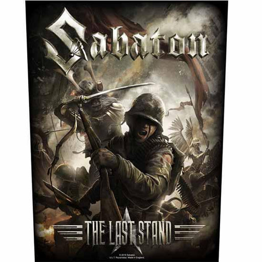 Back Patch - Sabaton - The Last Stand-Metalomania